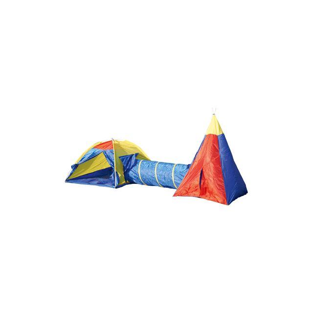 Easykado Tentes + Tunnel Enfant
