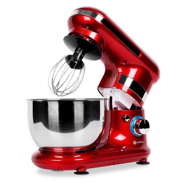 KLARSTEIN Serena Rossa Robot ménager rouge 600W 4 pièces