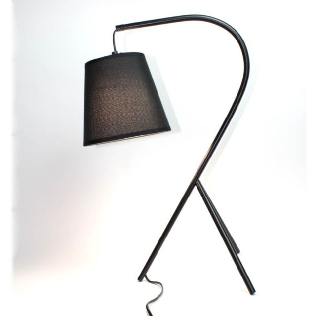 Lampe Chevet Design A Trepied Noir Campana
