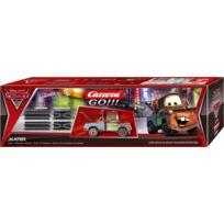 Carrera Go - 200 Véhicule Miniature et Circuit Disney / Pixar Cars 2 Extension Kit + Mater
