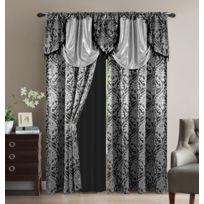 rideau 300 cm hauteur achat rideau 300 cm hauteur pas cher rue du commerce. Black Bedroom Furniture Sets. Home Design Ideas