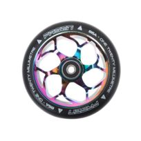 Fasen - Roue de trottinette Roue oil slick 120 mm Blanc 10072