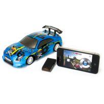 Autre - M-racer - Voiture 1/24 è radio commandée pour Iphone et Ipad - 2.4GHZ - Bleue