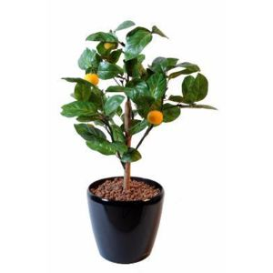 Artificielflower arbre artificiel fruitier oranger mini for Arbre artificiel exterieur pas cher