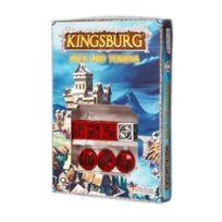 Q-workshop - Set De DÉS Officiel Kingsburg Rouge