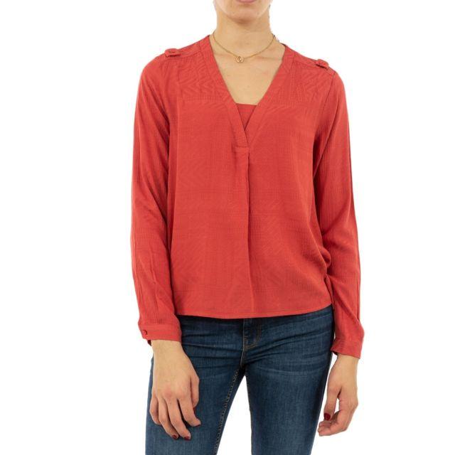 Lola Espeleta Tee shirt manches longues tp31w19 rouge