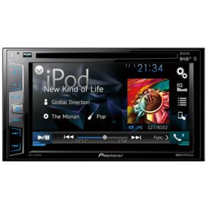 PIONEER - AVH-X3700DAB compatible avec smartphone Adroid/Ipod/Iphone Bluetooth