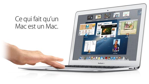 destockage apple macbook air 13 39 39 mjvg2f a pas cher. Black Bedroom Furniture Sets. Home Design Ideas