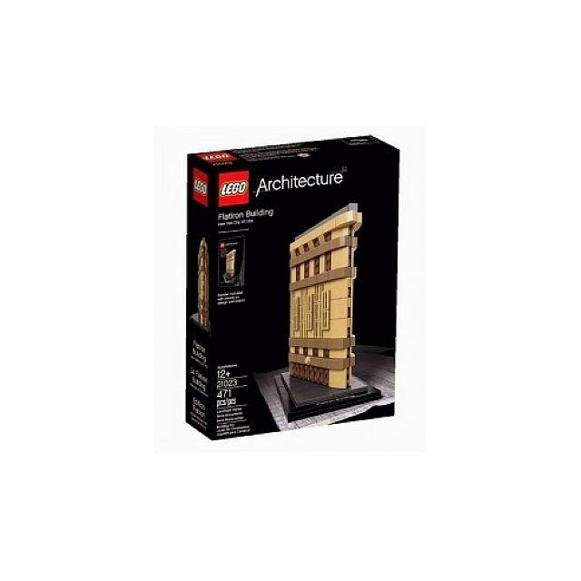 Lego - 21023 Le Flatiron Building, r, Architecture