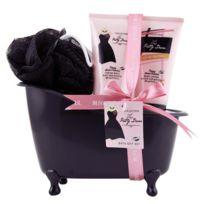 Coffret cadeau coffret de bain parfum fleurs de pivoine et patchouli - 3pcs
