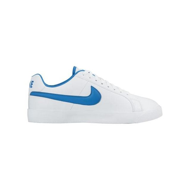 Nike Chaussures Court Royale Lw Leather blanc bleu