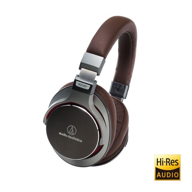 AUDIO-TECHNICA  Casque circum-auriculaire d'écouteur Haute Résolution - ATH-MSR7GM
