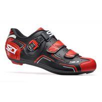 Sidi - Chaussures Level Noires Et Rouges Chaussures Vélo