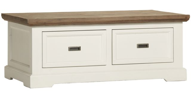 Comforium table basse 120 cm avec tiroirs de rangement Table basse avec tiroir de rangement