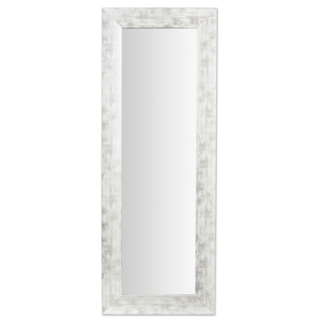 Kavehome Miroir Misty, blanc et argent 59x159 cm