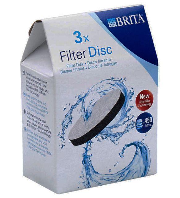 BRITA Pack de 3 disques filtrants Fill&Serve