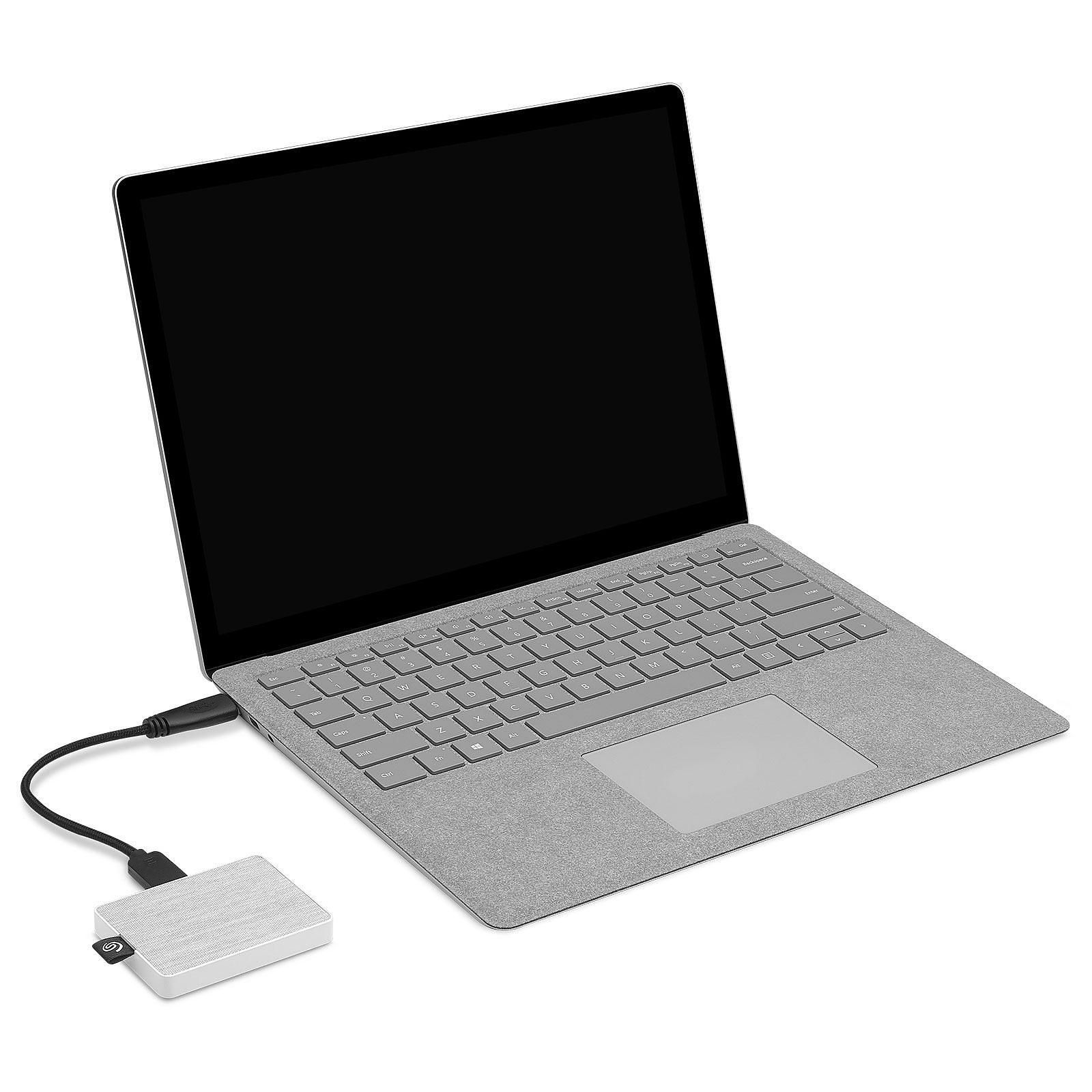 SSD Externe One Touch 1To Seagate Blanc