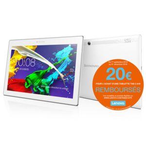 LENOVO - TAB2 A10-70 10,1'' FHD IPS - ZA000049DE - 16 Go - Wifi - Blanc