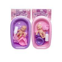 Sans - Set Bain Bébé avec Accessoire - Modèle Aléatoire - Jeu Jouet Cadeau  Enfant Fille 8af3b6bc9eee