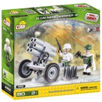 Cobi Klocki - Petite ArmÉE 2182 Ww Ii, 15CM Nebelwerfer 41, 80 Briques De Construction Par Cobi Co-2182