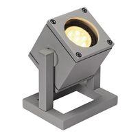 Slv Belgium - Slv - Spot à poser extérieur Cubix Ip44 H12,5 cm - Gris
