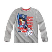 Angry Bird - s Transformers Garcon Tee-shirt manches longues