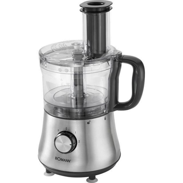 Bomann Robot Mixeur Multifonctions De Cuisine 1 5l Blender Hachoir