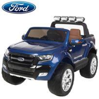 Ford - Nouvelle Ranger bluetooth voiture quad 4x4 électrique enfant bleu métal pack luxe Edition 2017