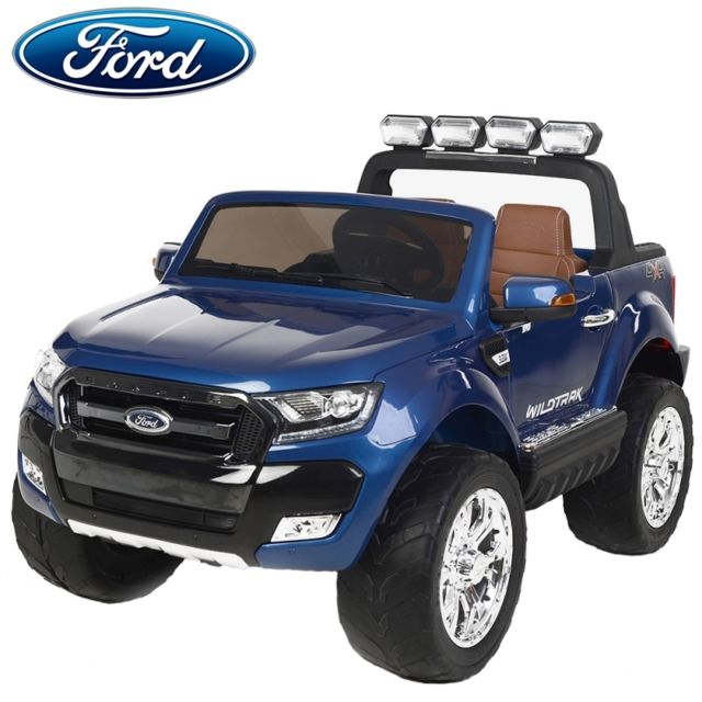 ford nouvelle ranger bluetooth voiture quad 4x4 lectrique enfant bleu m tal pack luxe edition. Black Bedroom Furniture Sets. Home Design Ideas