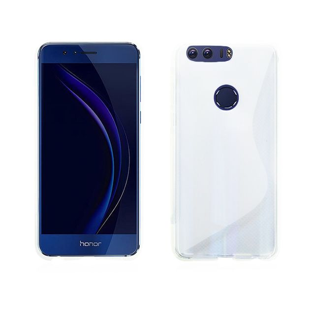 lapinette coque gel vague s pour huawei honor 8 film blanc pas cher achat vente etui. Black Bedroom Furniture Sets. Home Design Ideas