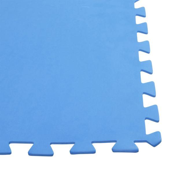 CARREFOUR Lot de 9 tapis de sol - 81 x 81 cm - 5,9 m² Vous cherchez de nouvelle solution de dallage pour votre extérieur ? Voici une solution facile à poser et qui vous simplifiera la vie.