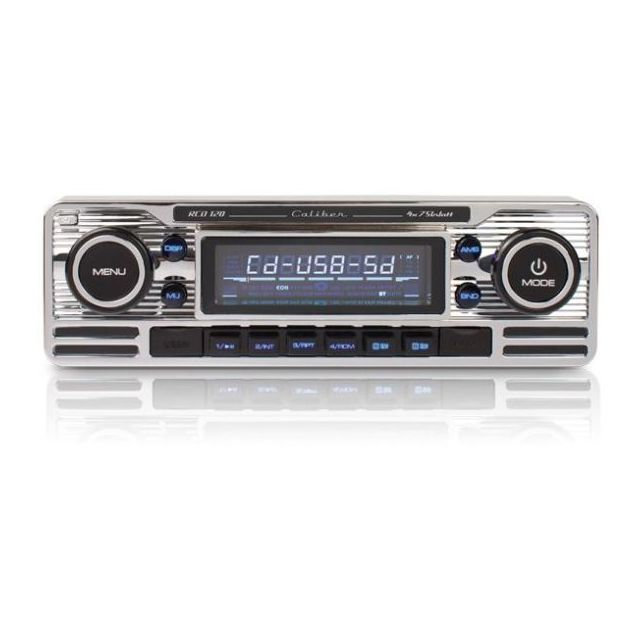 Caliber Autoradio Mp3 Rcd 120