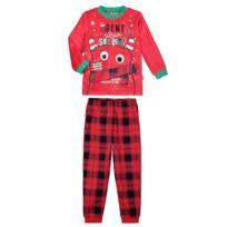 85663c9e80240 Petit Beguin - Pyjama garçon manches longues Ultra Secret - Couleur -  Rouge, Longueur des