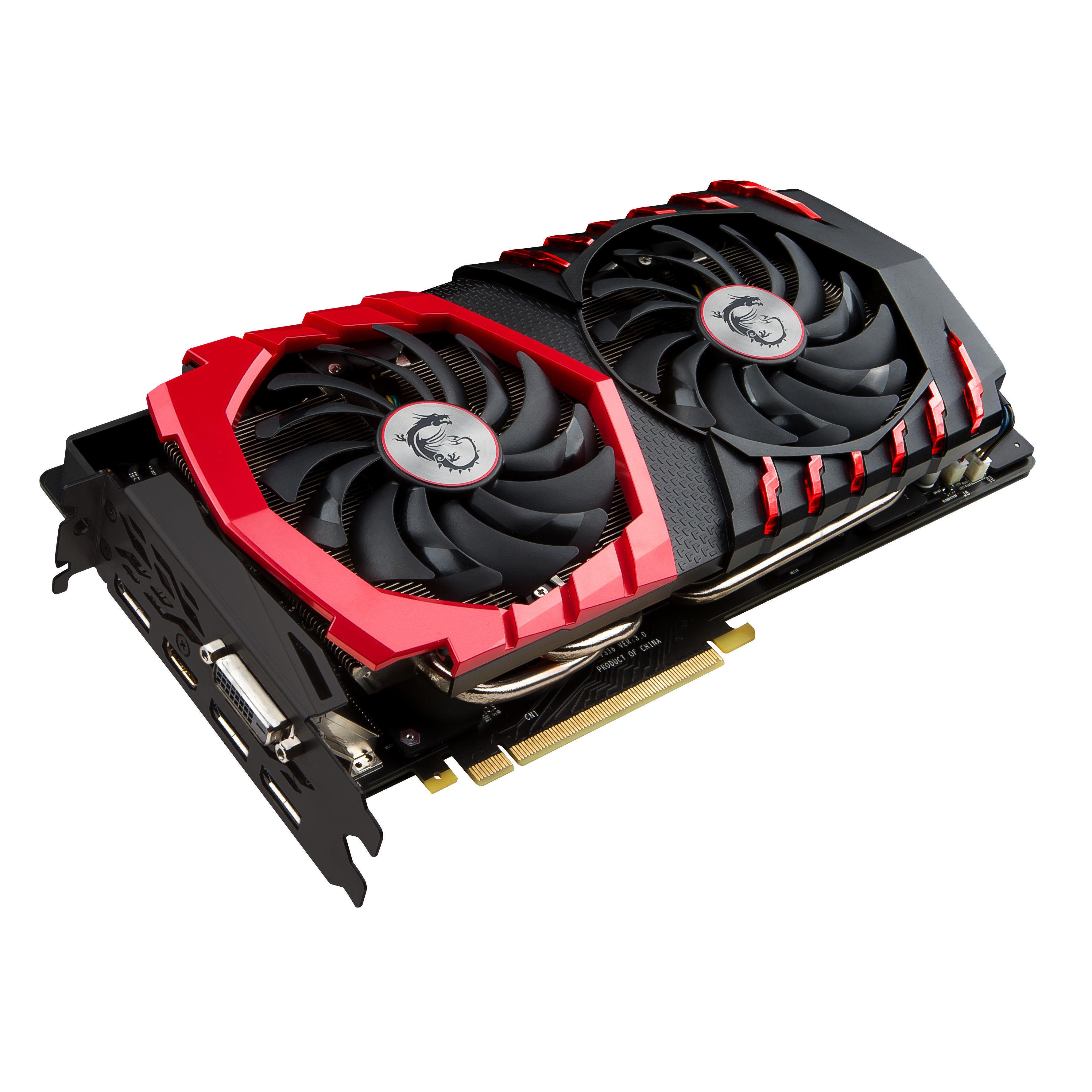 GeForce GTX 1080 GAMING X 8Go DDR5X