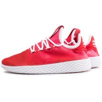d4df688a0ac3 Adidas - Pharrell Williams Tennis Hu Junior Rouge Et Blanche. Plus que 4  articles