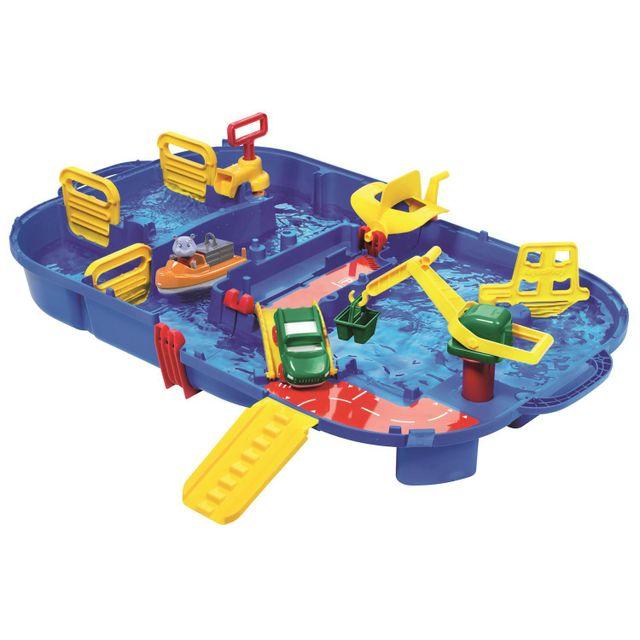 aquaplay 1616 coffret circuit d 39 eau lockbox pas cher achat vente aire de jeux rueducommerce. Black Bedroom Furniture Sets. Home Design Ideas