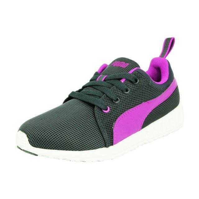 Sneakers Carson Femme Chaussures Puma Violet Wns Runner Mode Gris wBPpqq6x