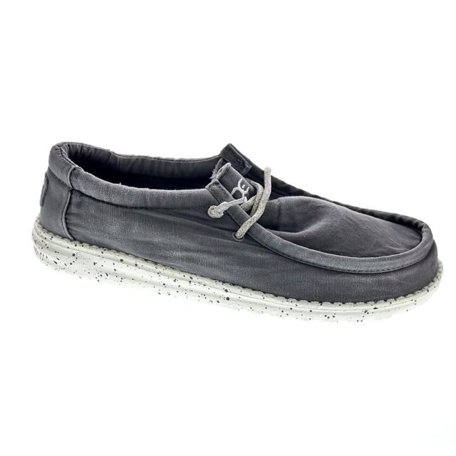 Dude Chaussures Homme Mocassins modele Wally Washed