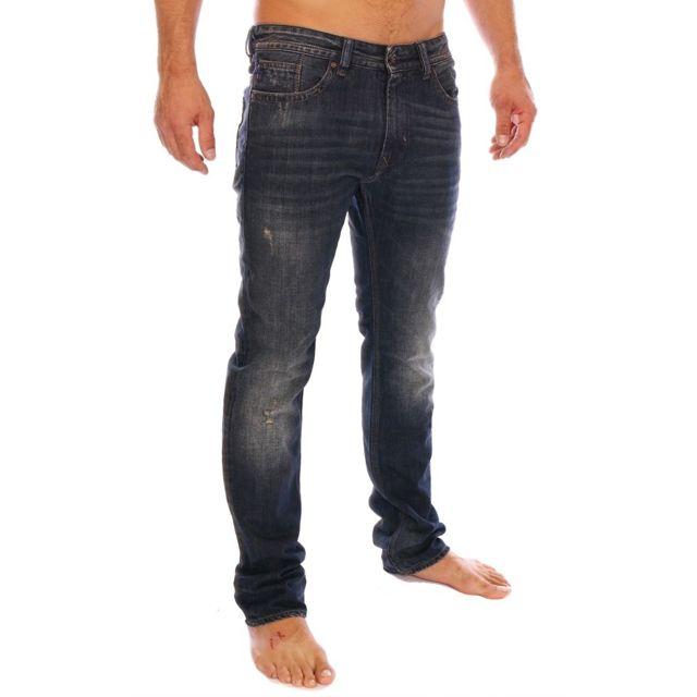 Kaporal 5 Kaporal Homme Jeans Broz Kawa Bleu Demi Slim Pas