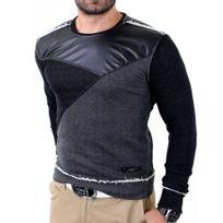 Redbridge - Pull tendance homme Pull Rb41353 noir