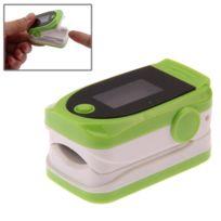 Wewoo - Tensiomètre vert Oxymètre de pouls du bout des doigts