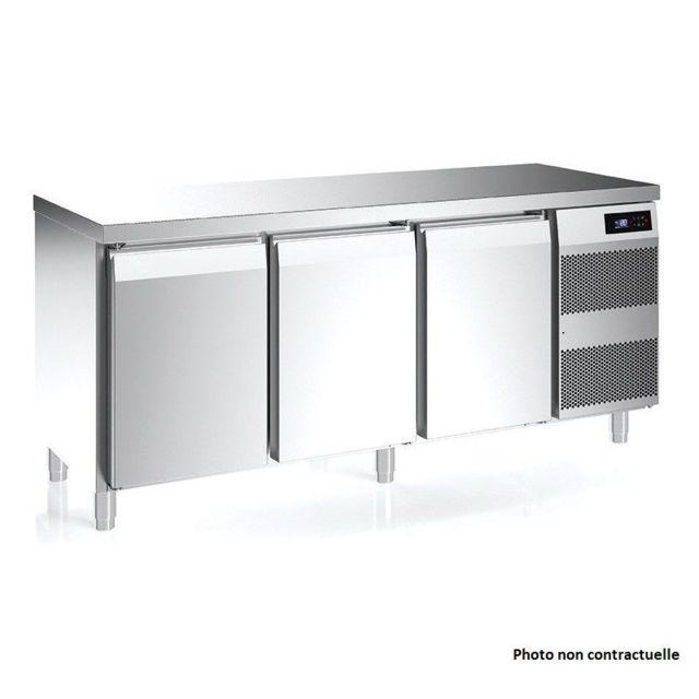 Materiel Chr Pro Table Réfrigérée Gn 1/1 Série Kansas 700 - 228 L à 488 L - Afi Collin Lucy - 2392x700 700