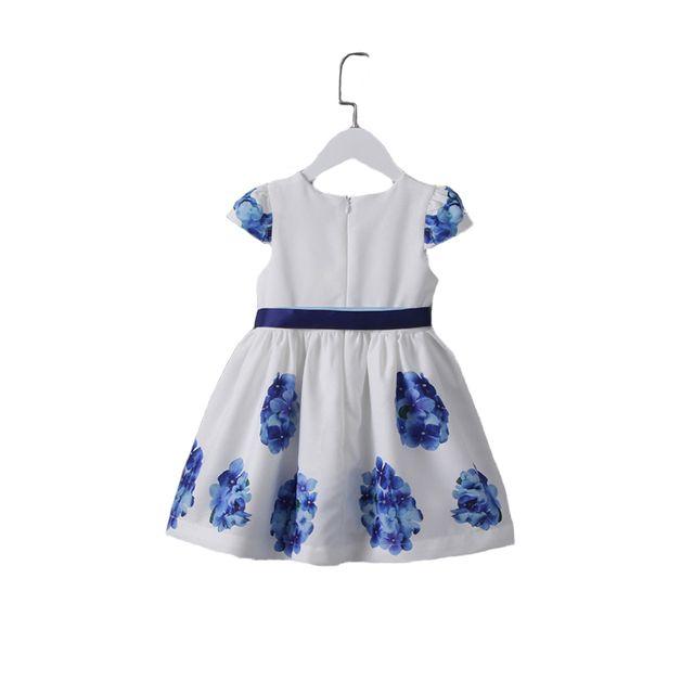c2b4b3a334bd Glareola - Robe imprimée fleurie pour enfants