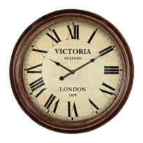 ANTIC LINE CREATIONS - Pendule anglaise Victoria Station