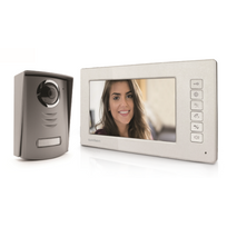 AVIDSEN - Interphone vidéo 7'' coloris argent 112212