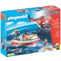 Playmobil - 5668 : City Action : Recherche et sauvetage côtier