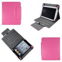 Xeptio - Housse Universelle tablette 8 pouces rose