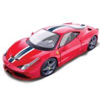 Burago - Voiture Ferrari Collection 458 Speciale I Échelle 1/18