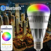 B22 Couleur E26 Rectangulaire Multi Port Smart Rgb Bluetooth Réglable 10w Chaude E27 Ampoules Luminosité Lumière Intelligentes Télécommande UMVqzGSp
