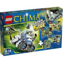 Lego - Chima - Super Pack 5 en 1 - 66491